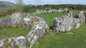 The prehistoric megalithic site -- Giant's Grave.