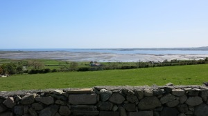 The view from the house. -- Carlingford Lough.