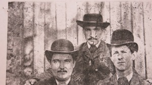 The O'Rourke boys. Kieran thinks the man in the middle is my great grandfather, John.
